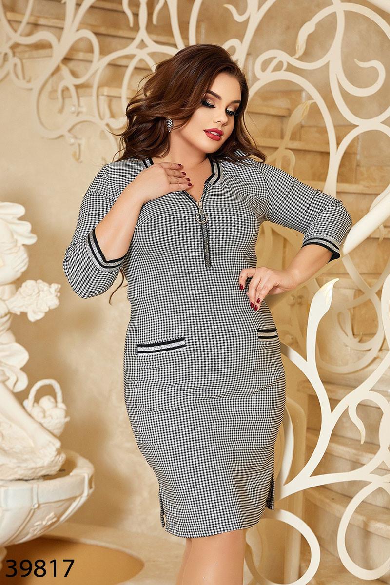 Платье женское приталенного кроя  размеры: 50-52, 54-56, 58-60