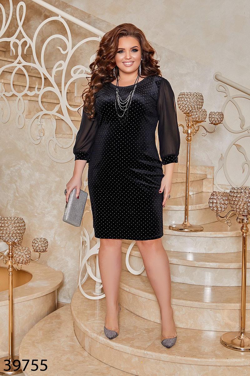 Нарядное вечернее платье,   батал  размеры: 50-52 54-56 58-60 62-64
