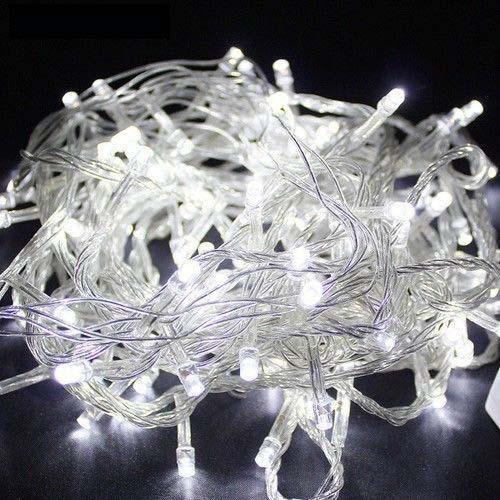Светодиодная новогодняя гирлянда 500 LED - 15 метров, гирлянды на елку (Холодный белый)