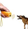 Ультразвуковой отпугиватель AD-100 собак с батарейкой в комплекте без фонарика Super Ultrasonic 150dB, фото 3