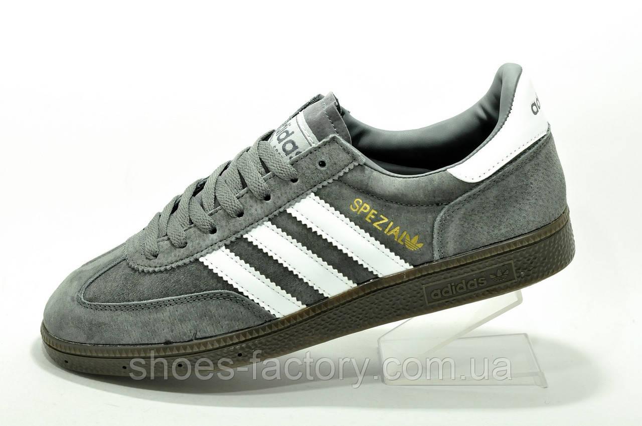 Кроссовки мужские в стиле Adidas Spezial Gray