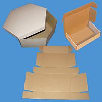 Коробки из гофрокартона различной конфигурации
