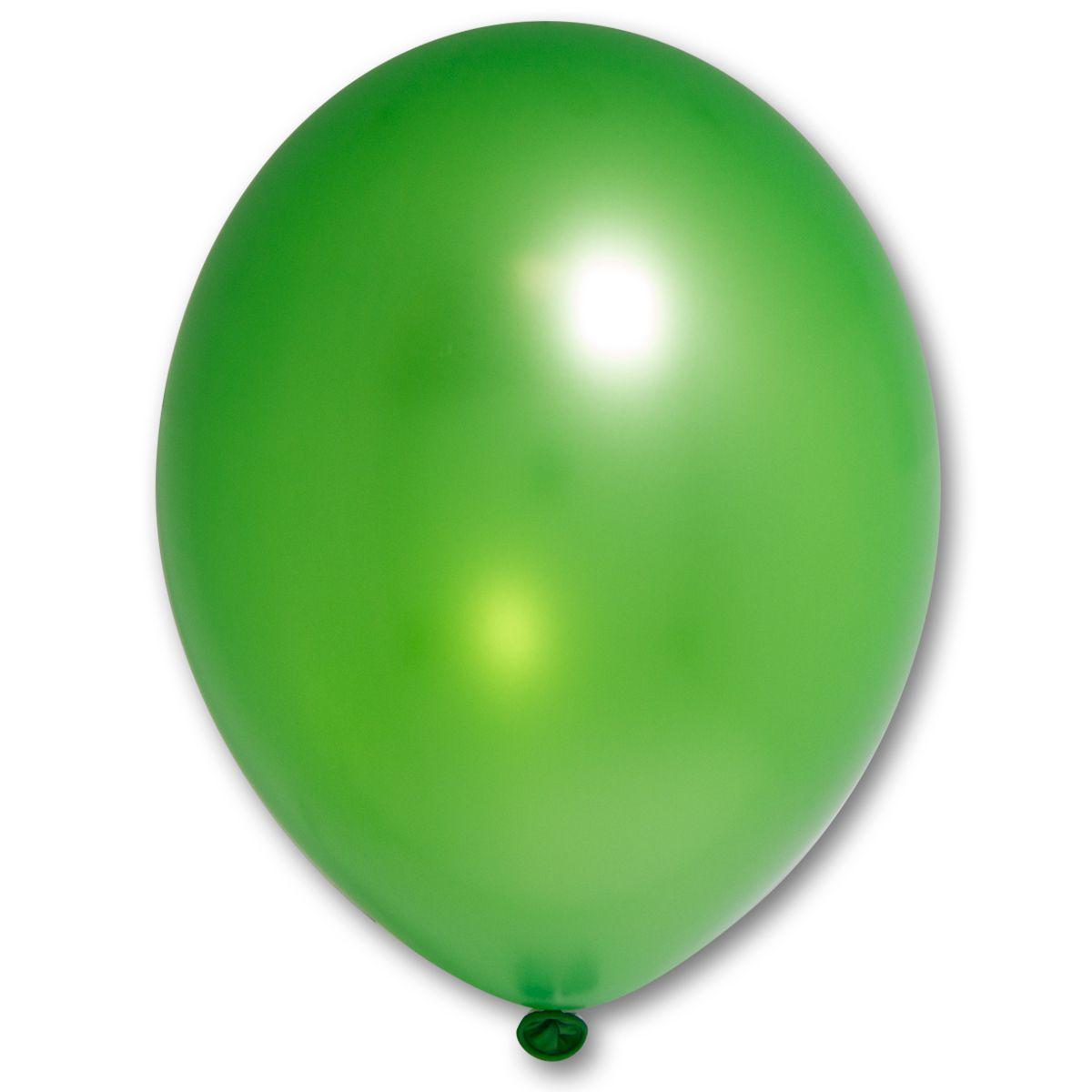 """Кулька 12""""/30 зелений 083 латекс металік ТМ """"Belbal"""" однотонний шт."""