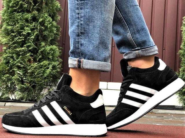 Зимние кроссовки Adidas Iniki мужские  (в стиле адидас иники)