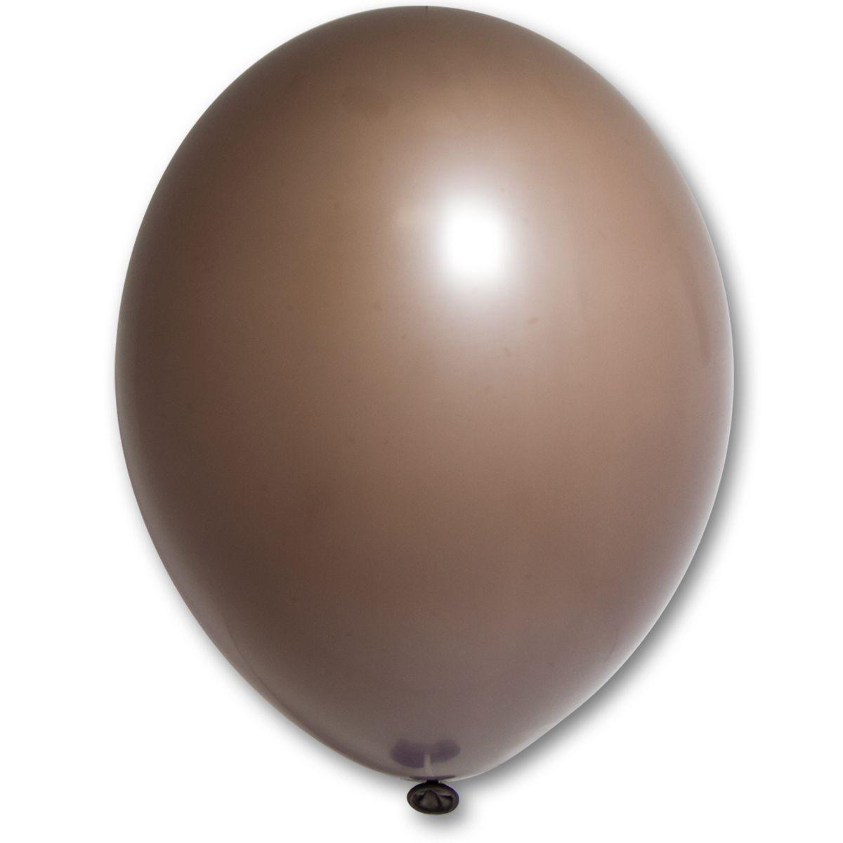 """Кулька 12""""/30 какао коричневий 149 латекс пастель ТМ """"Belbal"""" однотонний шт."""