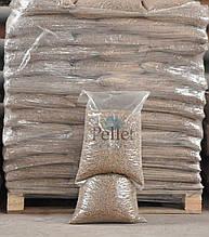 Топливные пеллеты из шелухи гречихи и дубовых опилок (6-ка), в мешках