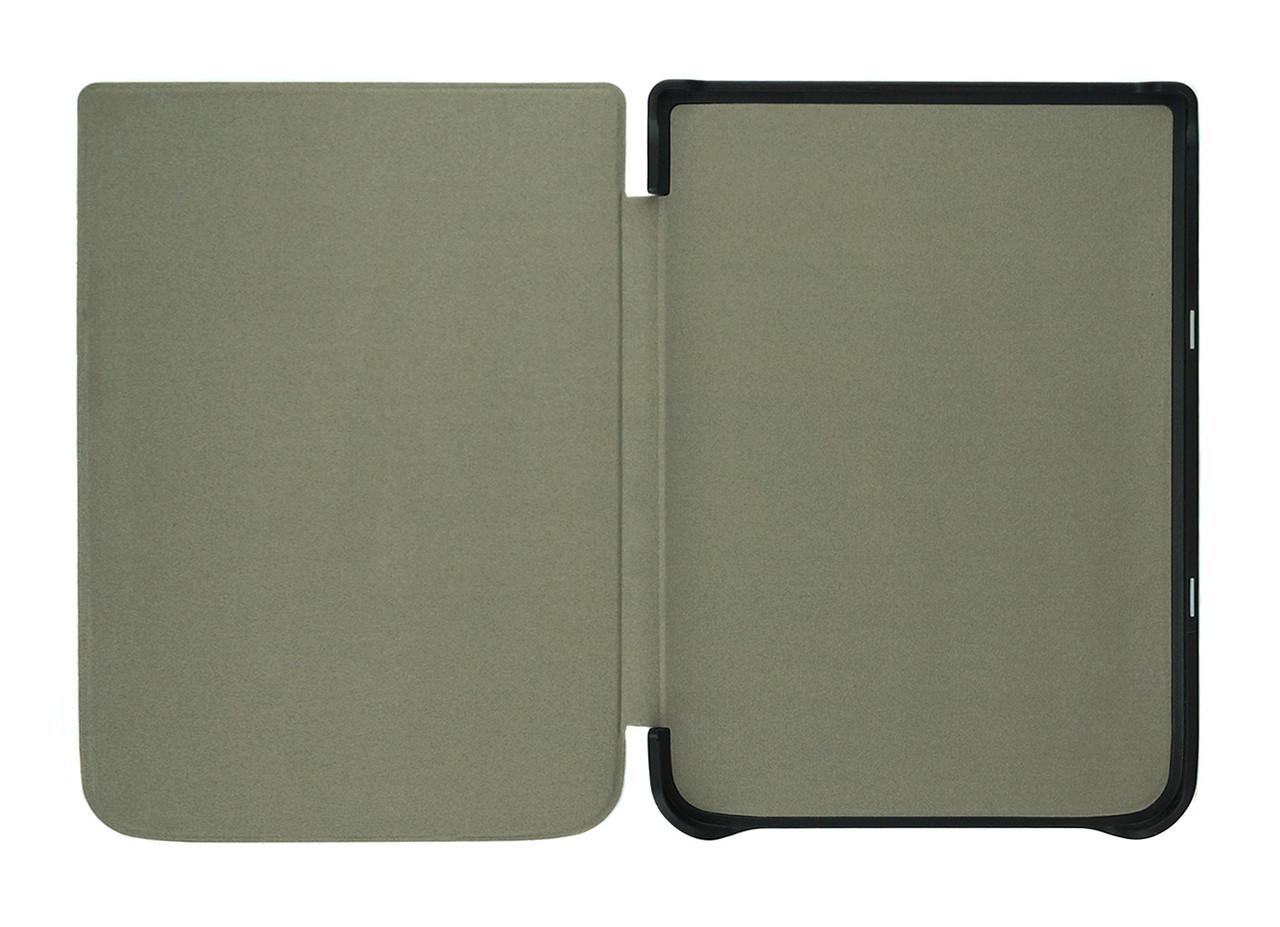 фиолетовый pocketbook 740 чехол - разворот