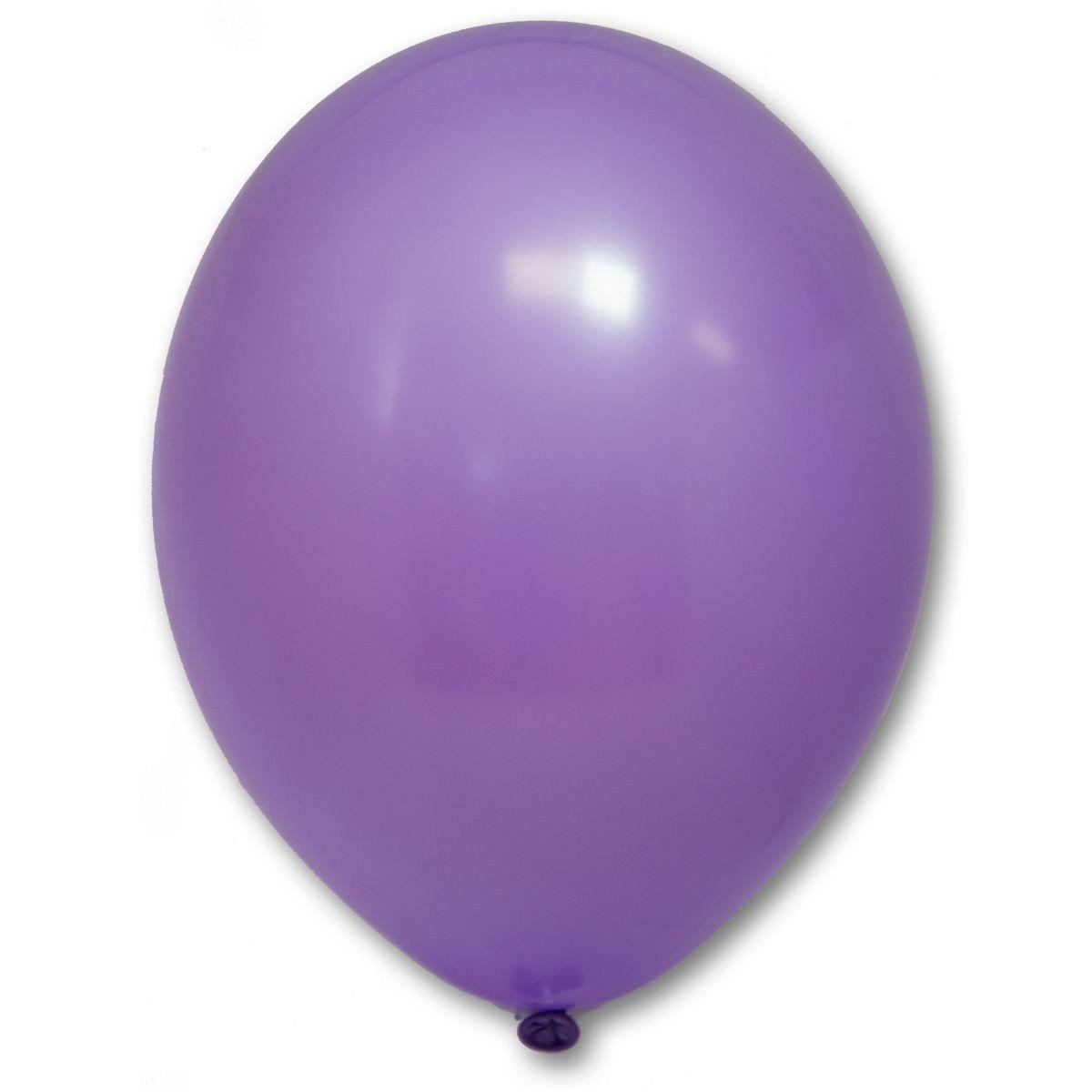 """Кулька 12""""/30 лавандовий 009 латекс пастель ТМ """"Belbal"""" однотонний шт."""
