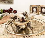 Посеребренный английский заварочный чайник на ножках, кофейник серебрение, мельхиор, Англия, 1,2 литра, фото 10