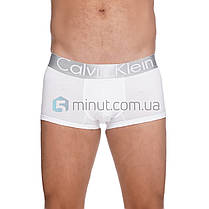 Трусы мужские Calvin Klein набор 5 штук хлопок в подарочной коробке + носки в подарок!, фото 3