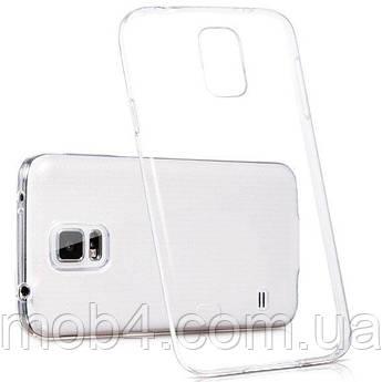Силиконовый прозрачный чехол для Samsung Galaxy (Самсунг Гелекси) S5