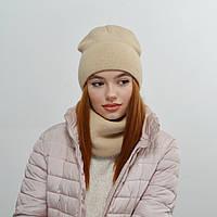 Комплект Nord Тереза шапка+снуд беж