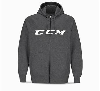 Толстовка CCM Fullzip CVC Hoody JR.