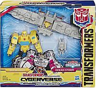 Трансформер Бамблби Кибервселенная Transformers Cyberverse Spark Armor Bumblebee