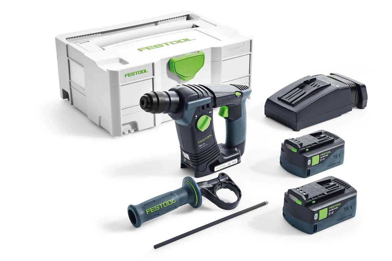 Аккумуляторный перфоратор Festool BHC 18 Li 5,2-Plus