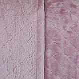 Покрывало однотонное розовый тонкое плед розового цвета, микрофибра 210x230см, фото 2