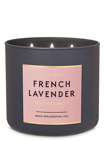 Свеча ароматизированная Bath and Body Works French Lavender Scented Candle, фото 2