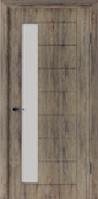 Двері міжкімнатні Геометрія дуб англійська