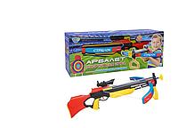 Детский спортивный арбалет с лазерным прицелом Limo Toy и стрелами на присосках