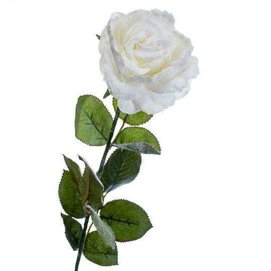 Новогодняя роза 74 см