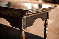 Стол письменный в стиле Loft, прямоугольный. Изготовление мебели в стиле лофт на заказ