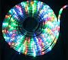 Светодиодная гирлянда Дюралайт в шланге 20м c RGB контролером на 220V Мультицвет, фото 3