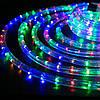 Светодиодная гирлянда Дюралайт в шланге 20м c RGB контролером на 220V Мультицвет, фото 4
