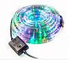 Светодиодная гирлянда Дюралайт в шланге 20м c RGB контролером на 220V Мультицвет, фото 6