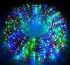Светодиодная гирлянда Дюралайт в шланге 20м c RGB контролером на 220V Мультицвет, фото 8