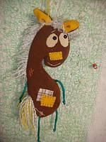 """Лошадь.  Мягкая игрушка """"Василиса"""""""