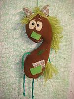 """Лошадь.  Мягкая игрушка """"Конь Юлий"""""""