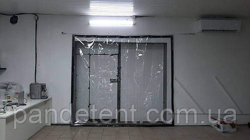 Мягкая прозрачная штора для автомойки из водостойкой ткани ПВХ (Япония), фото 2