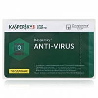ПО Kaspersky Anti-Virus 2 016 EEMEA Edition. 2 + 1 Desktop 1 year Renewal Card