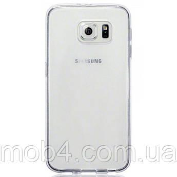 Прозорий силіконовий чохол для Samsung Galaxy (Самсунг Гелексі) S6 edge plus
