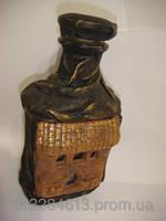 Бутылка - замок,функциональная .Декоративные.