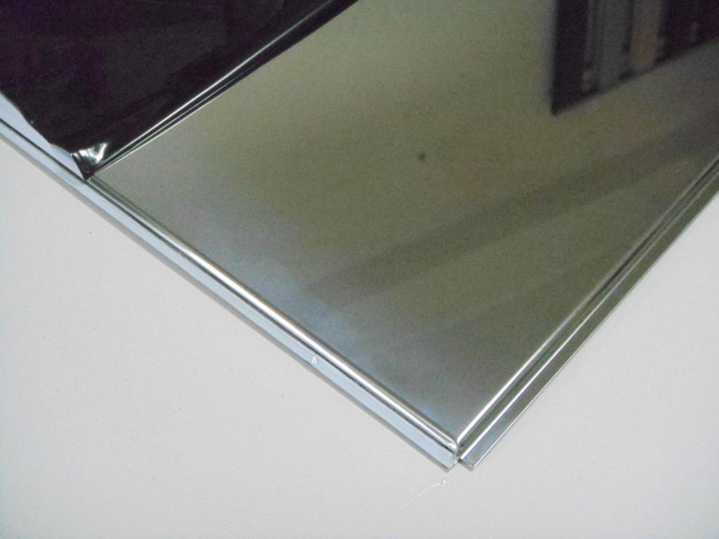 Нержавеющий лист 1.5 мм aisi 201 шлифованный 4N+PVC 1250х2500 мм