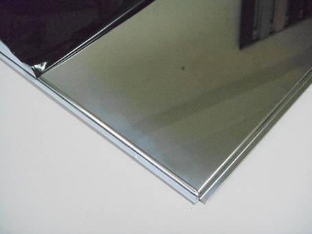 Нержавеющий лист 1.5 мм aisi 201 шлифованный 4N+PVC 1250х2500 мм, фото 2