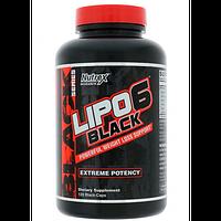 Nutrex Lipo 6 Black 120 caps (есть в наличии)
