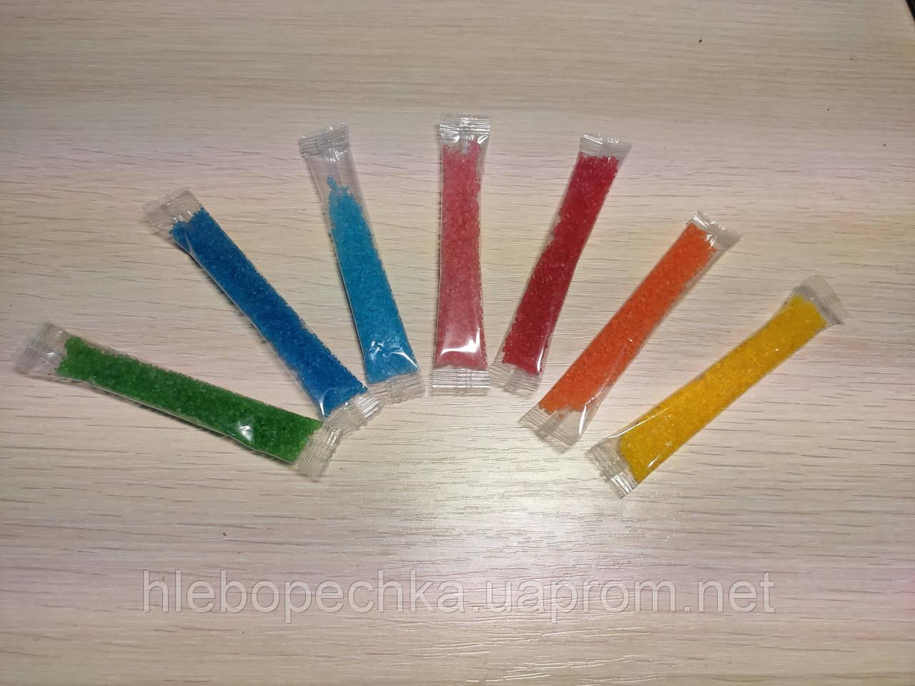 Сахар цветной в стиках