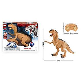Динозавр д/у, 52см, звук, свет, ходит, подв.детали,на бат-ке,в кор-ке, 36-30,5-12см