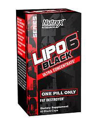 Nutrex Lipo 6 Black Ultra Concentrate 60 caps ( є в наявності)