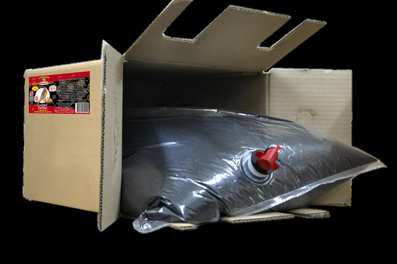 Cоевый соус Classic Ekstra 18,9л картонная коробка 🦑 от ТМ Дансой