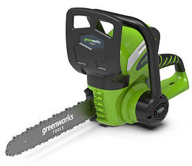 Цепная пила аккумуляторная Greenworks G40CS30 (20117) (без аккумулятора и ЗУ)