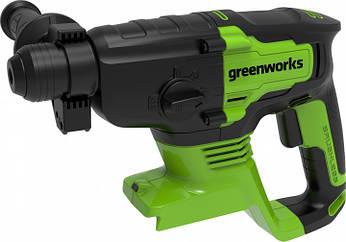 Перфоратор аккумуляторный Greenworks GD24SDS2 без АКБ и ЗУ