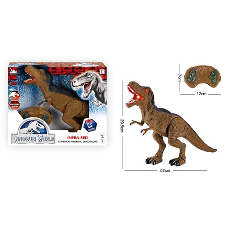 Динозавр д/у, 52см, звук, свет, ходит, подв.детали, на бат-ке,в кор-ке, 36-30,5-12см