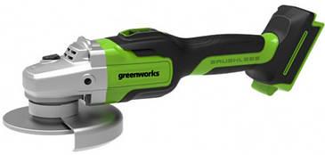 Углошлифовальная машина аккумуляторная Greenworks GD24AG без АКБ и ЗУ (3200207)