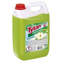 Миючий універсальний концентрат для будинка та підлоги Tytan zielone jabtuszko (зелене яблуко) 5 л.