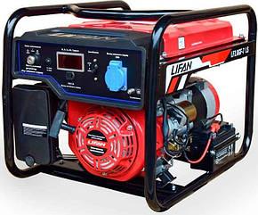Генератор бензин, газ Lifan 2.8GF-7 LS