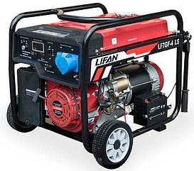 Генератор бензин, газ Lifan LF7GF-4LS