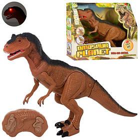 Динозавр д/у, 53см, звук, свет, ходит, на бат-ке, в кор-ке, 36-30-12см